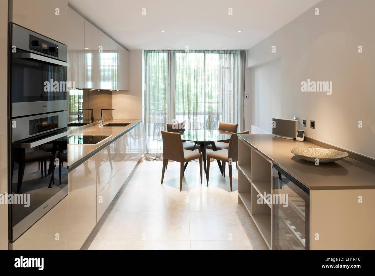 Lussuoso appartamento nel quartiere di Belgravia a Londra. Di fascia ...