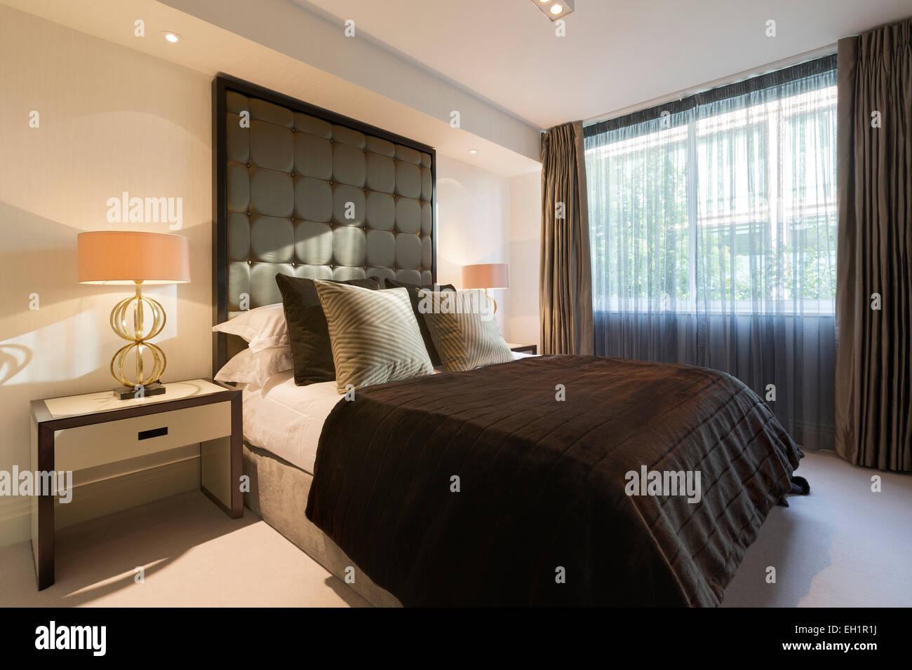 Lussuoso appartamento nel quartiere di Belgravia a Londra. Camera da ...