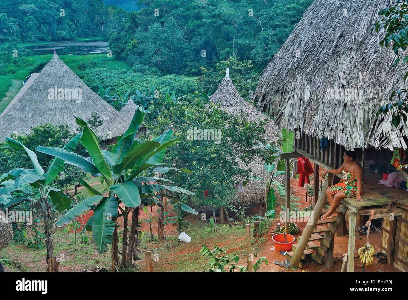 Panama, provincia di Darien, Parco Nazionale del Darién, classificato come patrimonio mondiale dall UNESCO, Immagini Stock