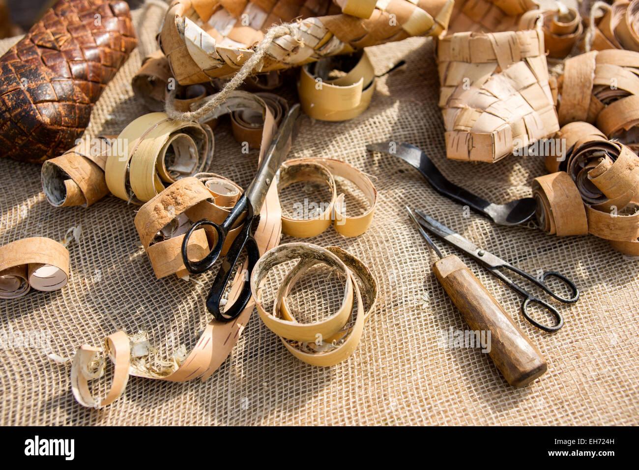 Russian Bast Shoes Immagini   Russian Bast Shoes Fotos Stock - Alamy 3988167cc0b
