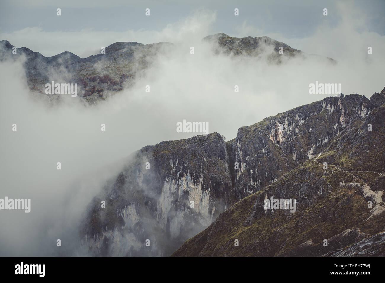 Picos de Europa Immagini Stock