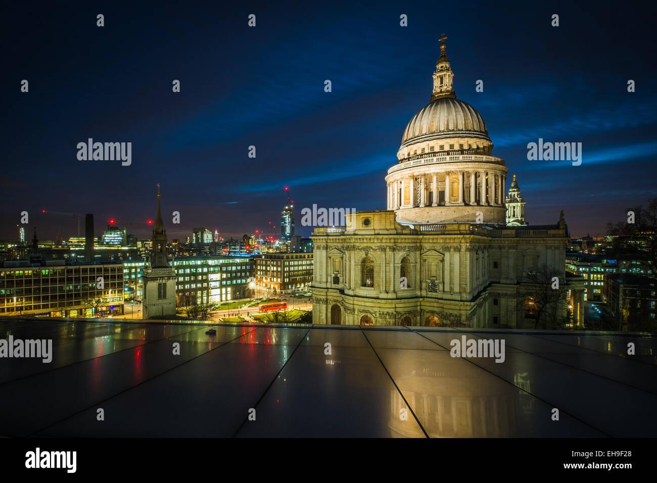 La cattedrale di St Paul, Londra Foto Stock