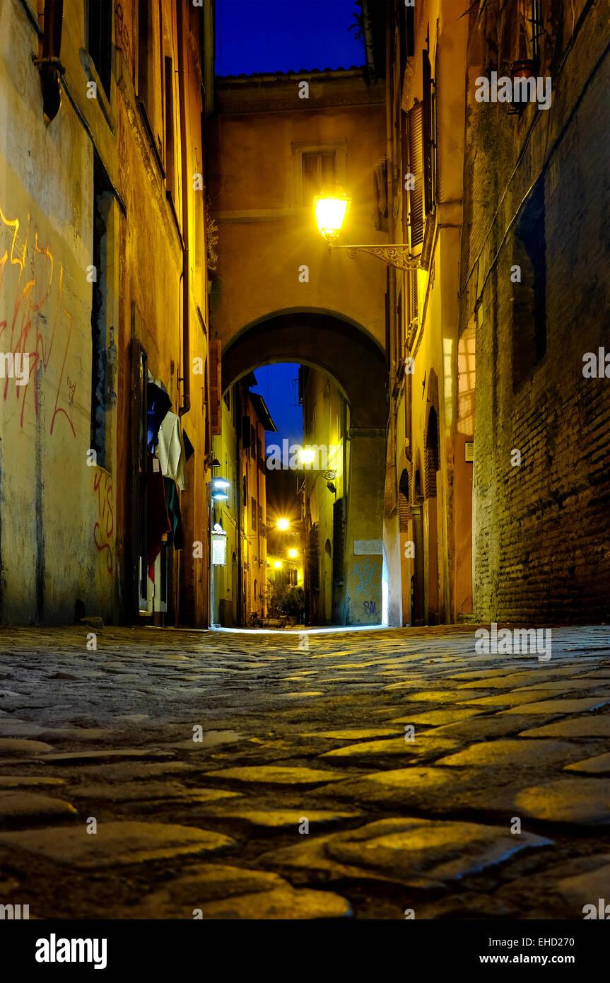 Arco dei Cappellari, Roma, Italia Immagini Stock