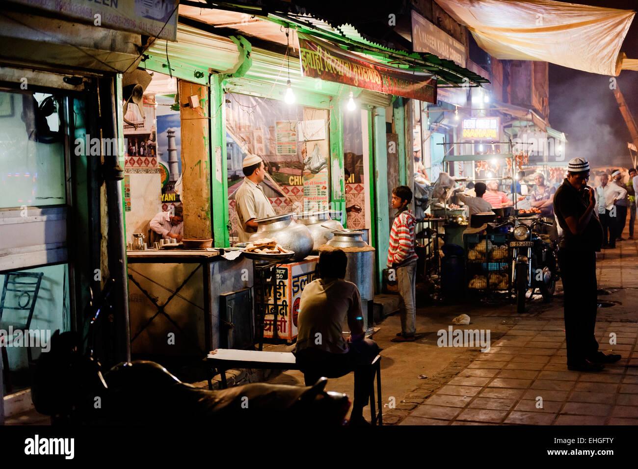 Nizamuddin, Nuova Delhi. Immagini Stock