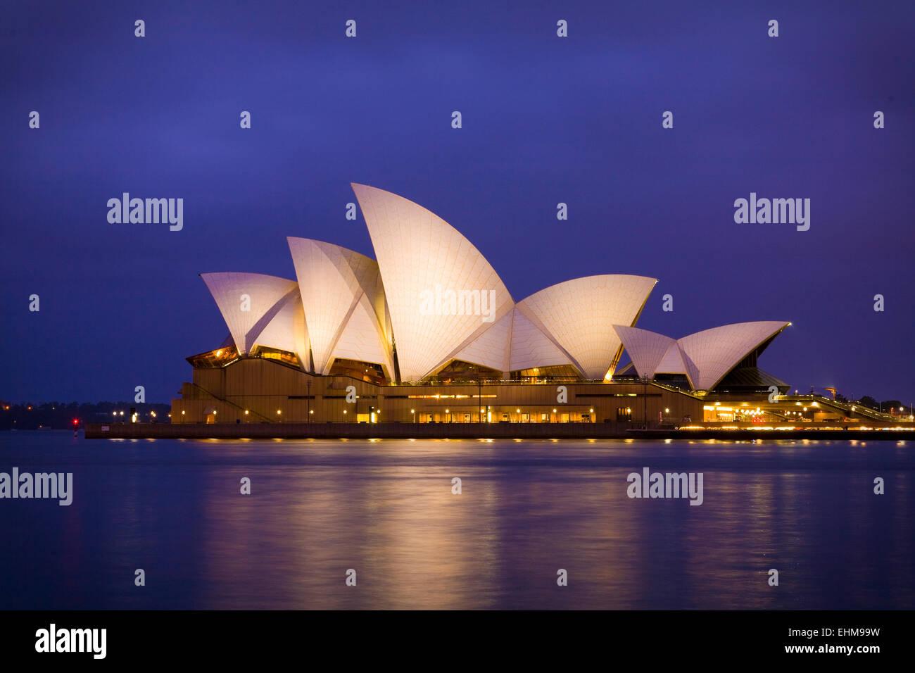 La Opera House di Sydney, Australia Immagini Stock