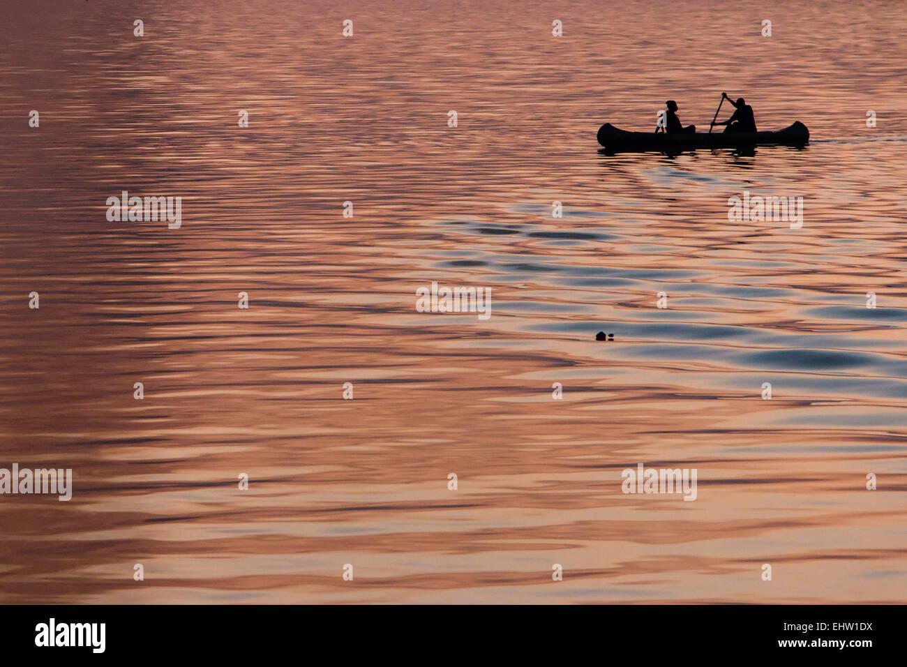 Illustrazione del Senegal, AFRICA OCCIDENTALE Immagini Stock
