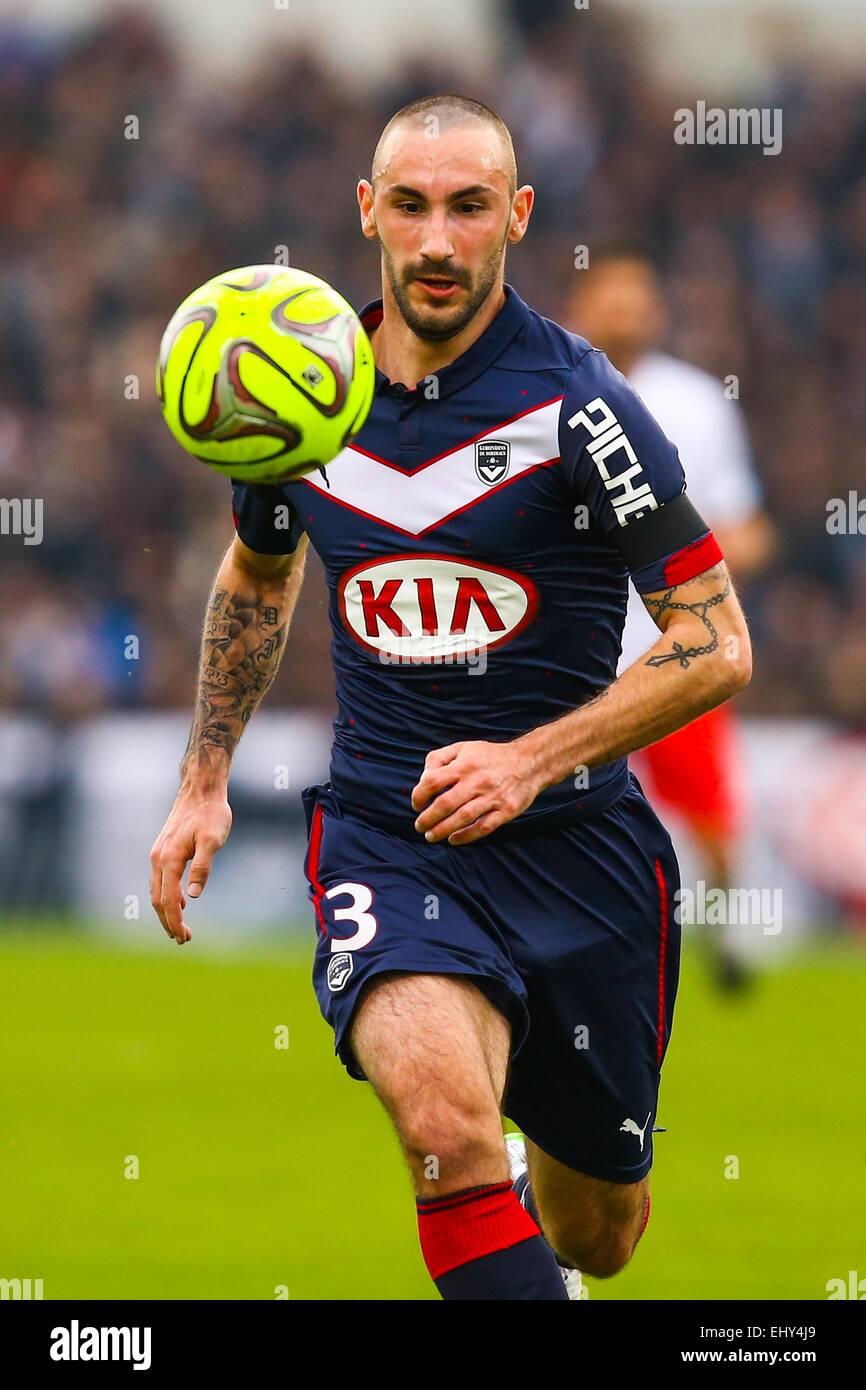 Diego contento - 15.03.2015 - Bordeaux/Paris Saint Germain - 29e journee Ligue 1.Photo : Manuel Blondau/Icona Sport Immagini Stock