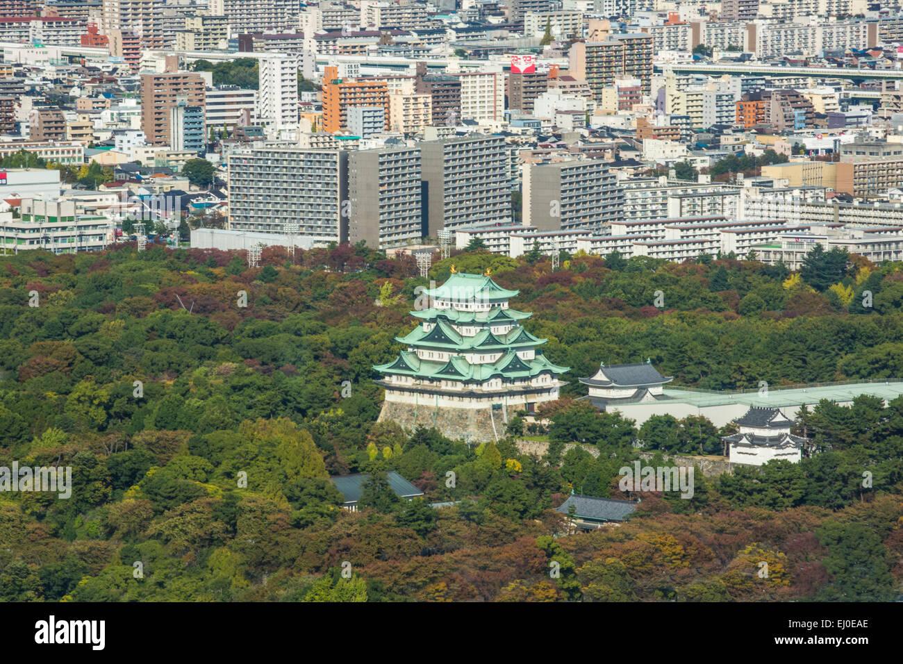 City, Giappone, Asia, Nagoya, antenna, Aichi, architettura