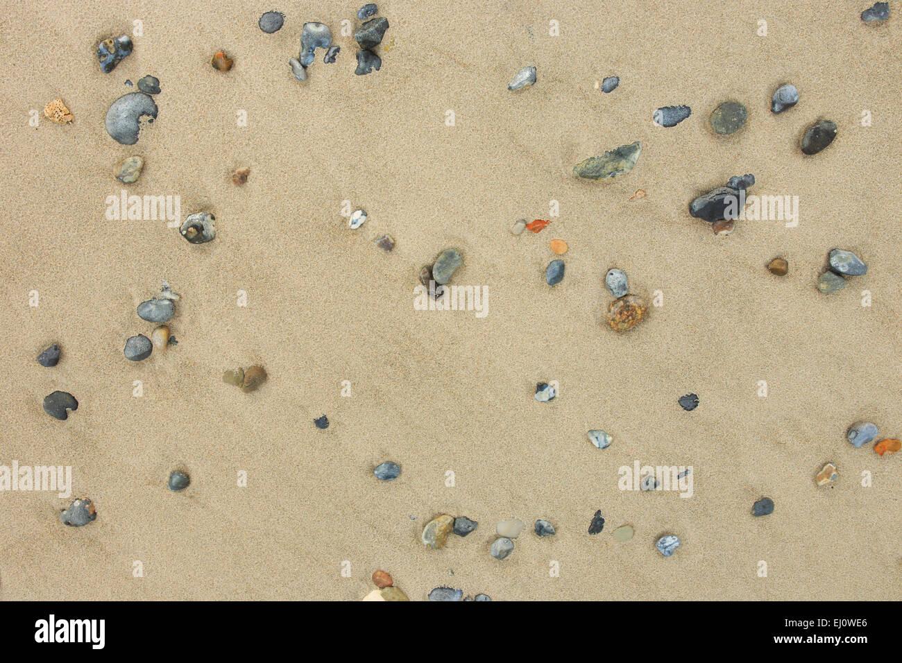 Dettaglio, Germania, Europa, forma, forma, forme, dimensioni, rock, Helgoland, macro, mare, motivo di close-up, Immagini Stock