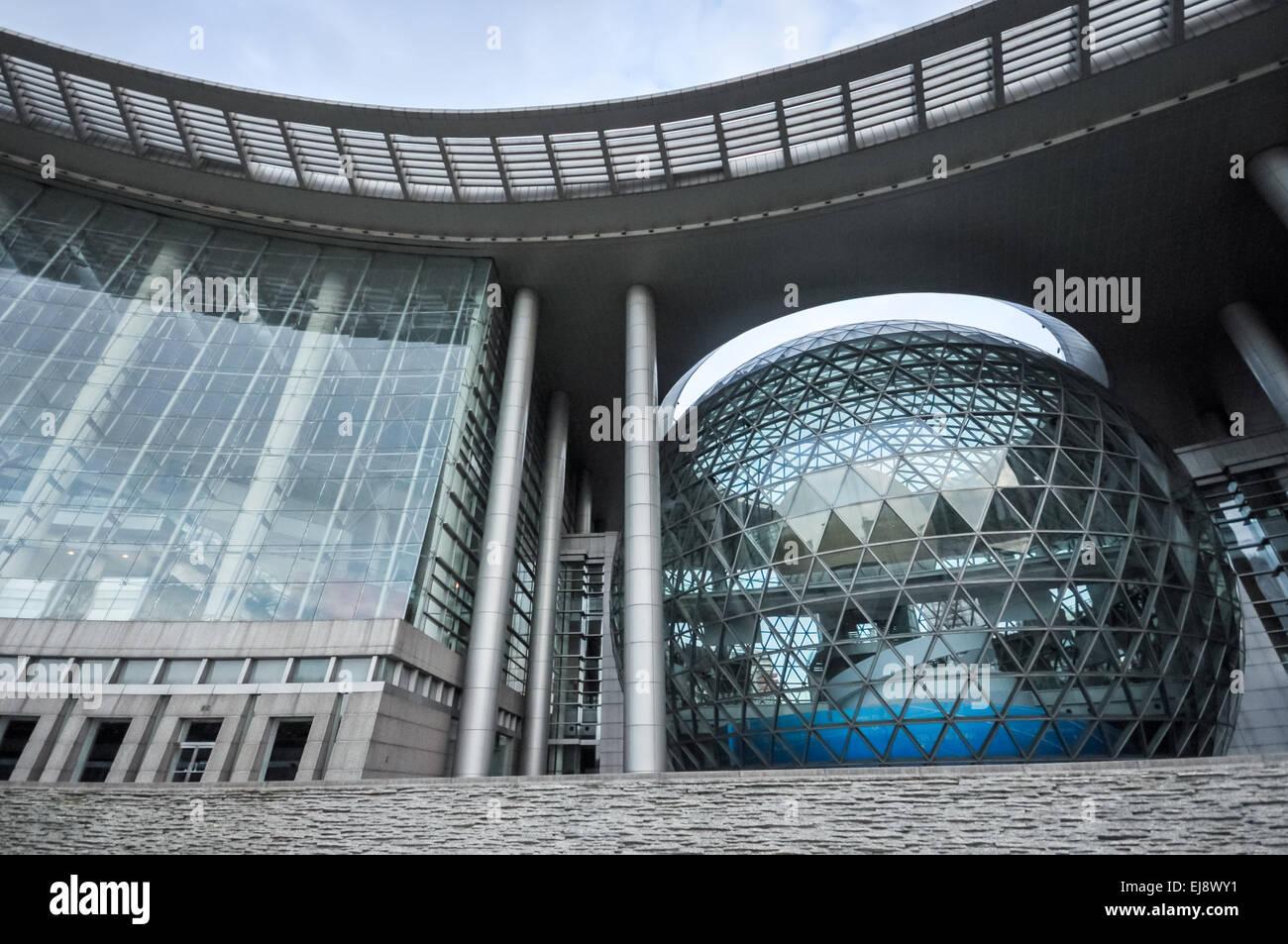 Shanghai Museo di Scienza e tecnologia in Cina Immagini Stock