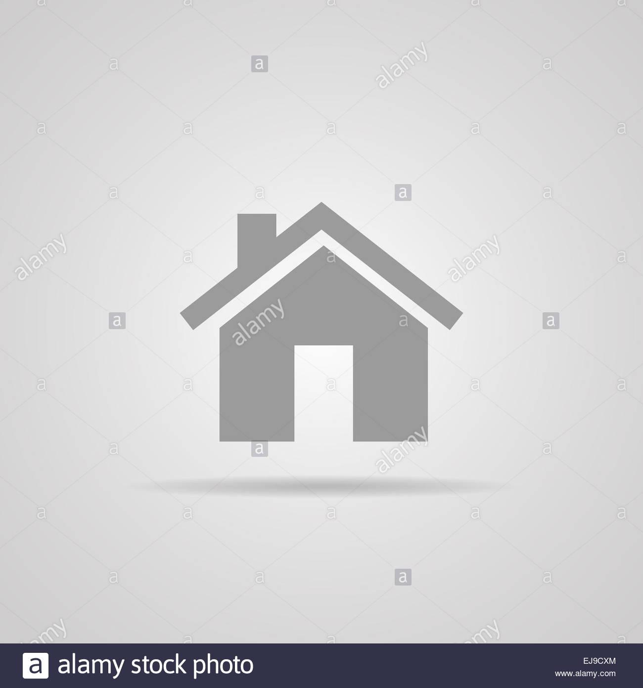 Icona di casa. . Eps10 Immagini Stock