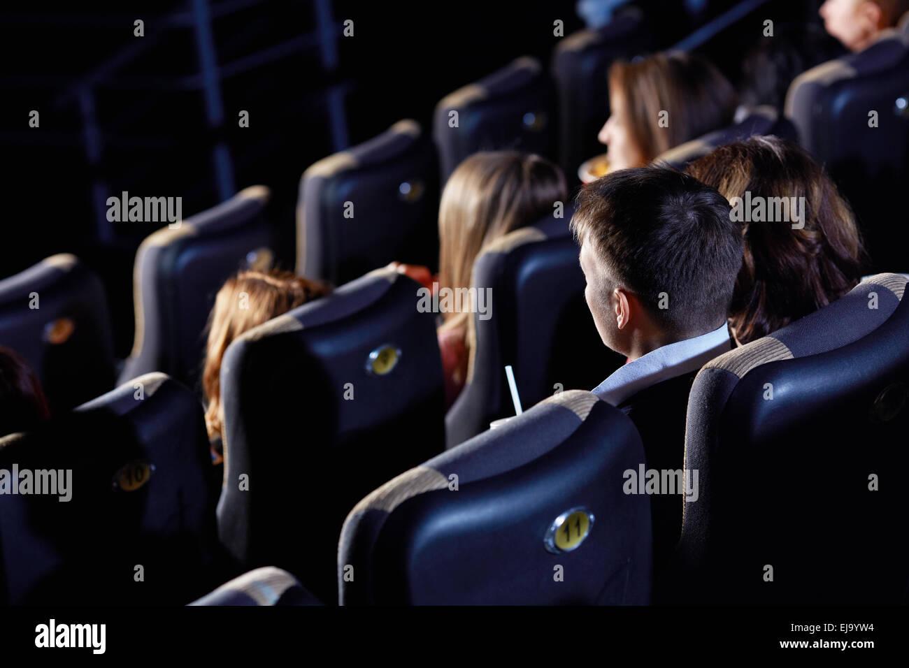 Sala cinema Immagini Stock