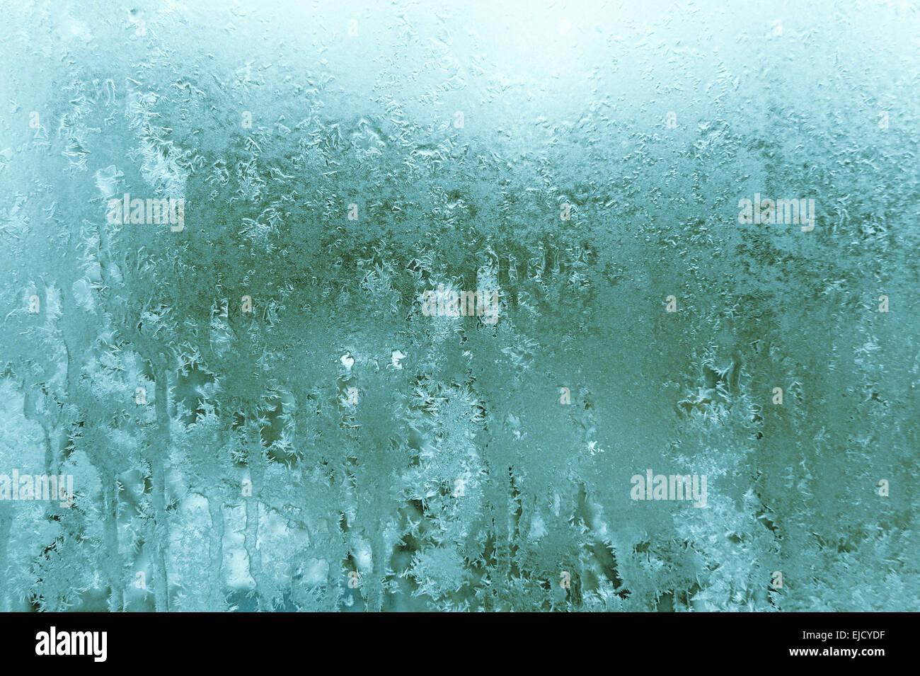Cambiamenti climatici - turquise sfondo astratto Immagini Stock