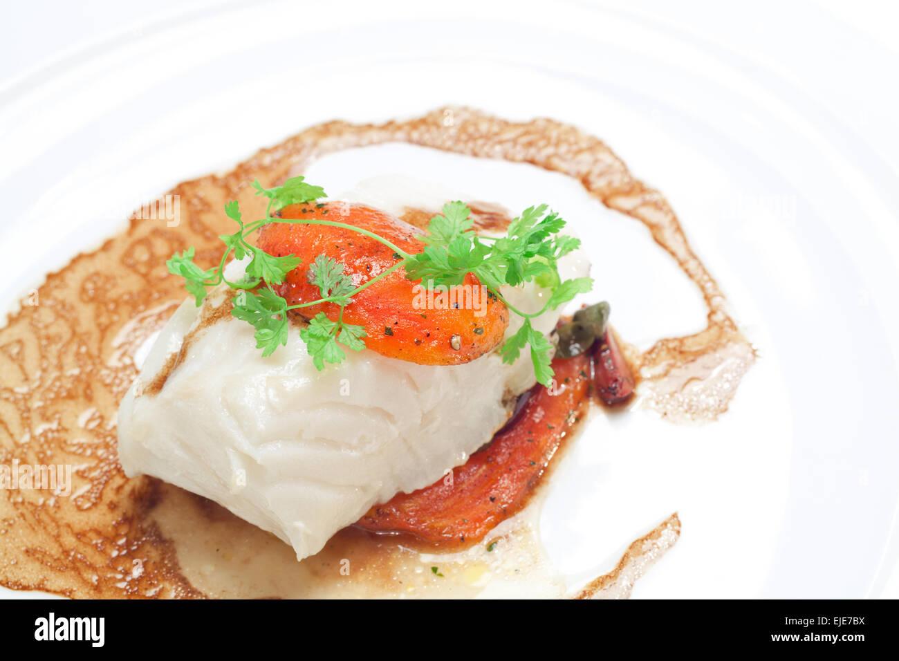Gourmet Entree principale Corso neve grigliata di pesce ...
