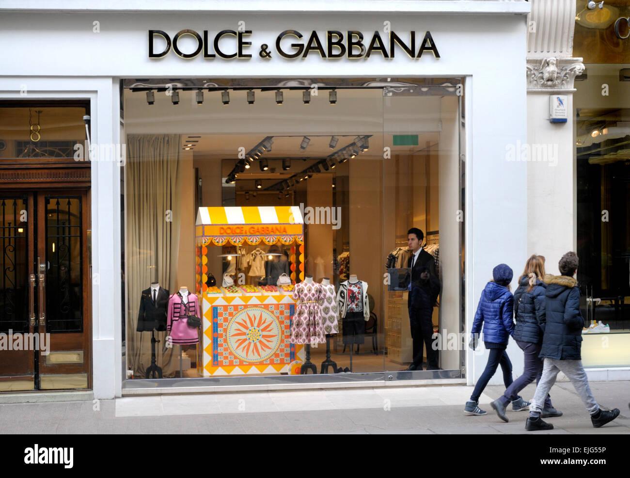 aabe779f64 Londra, Inghilterra, Regno Unito. Dolce & Gabbana shop su Sloane ...