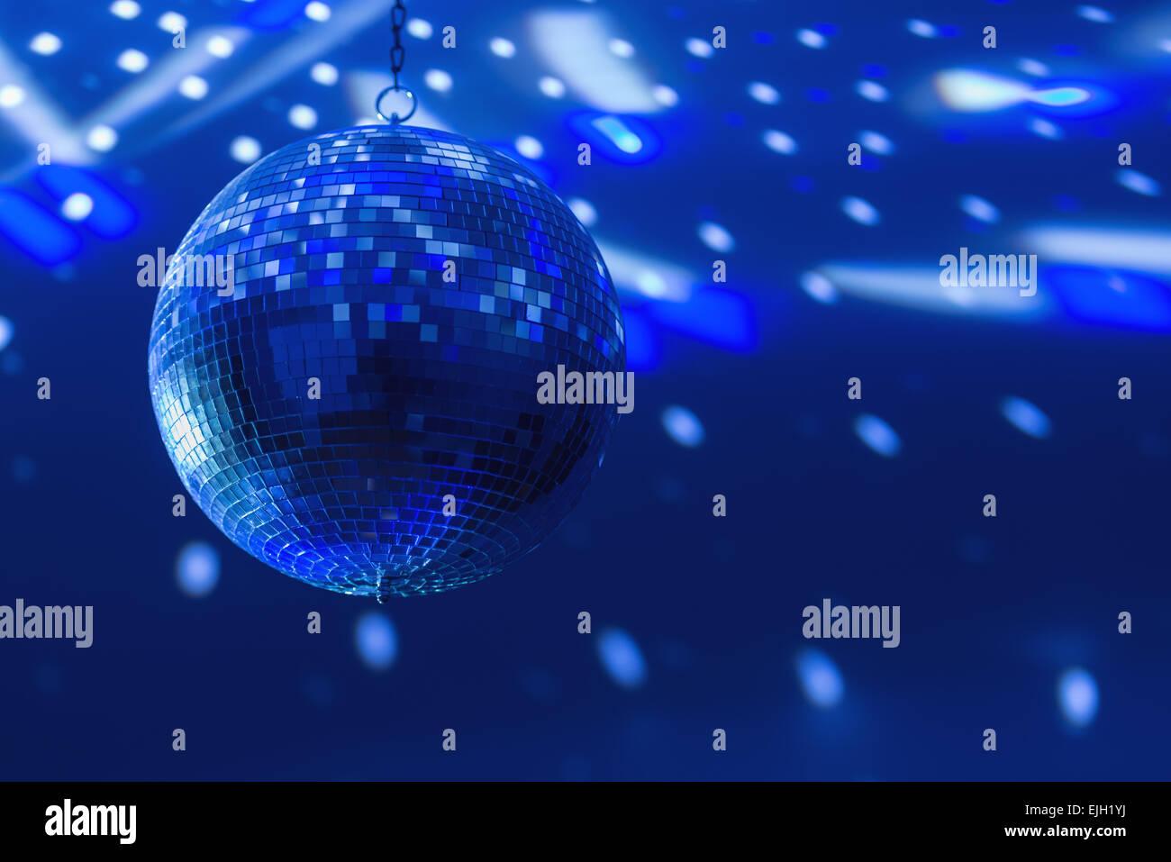 Discoteca sfondo sferico close up Immagini Stock