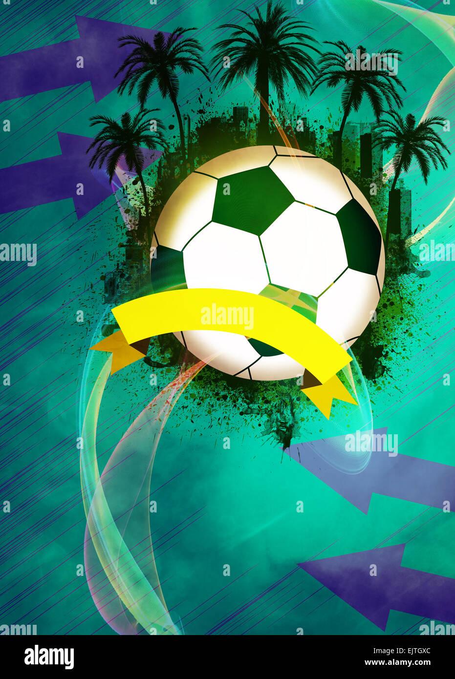 Calcio E Calcetto Invito Poster Volantini E Altri Annuncio Sfondo