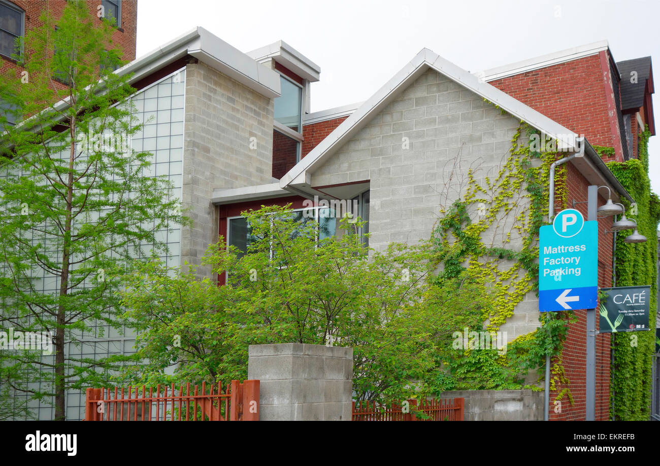 Mattress Factory Art Museum di Pittsburgh PA Immagini Stock
