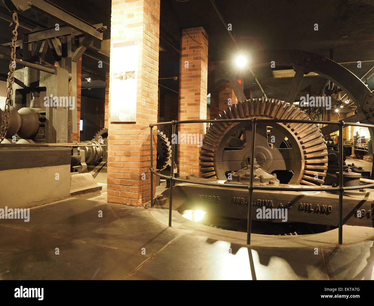 Museo Della Scienza E Della Tecnica Milano.Il Museo Nazionale Della Scienza E Della Tecnica Leonardo Da Vinci