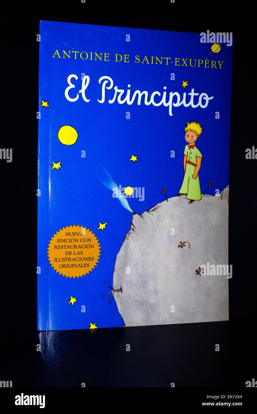 Il coperchio anteriore del Piccolo Principe libro
