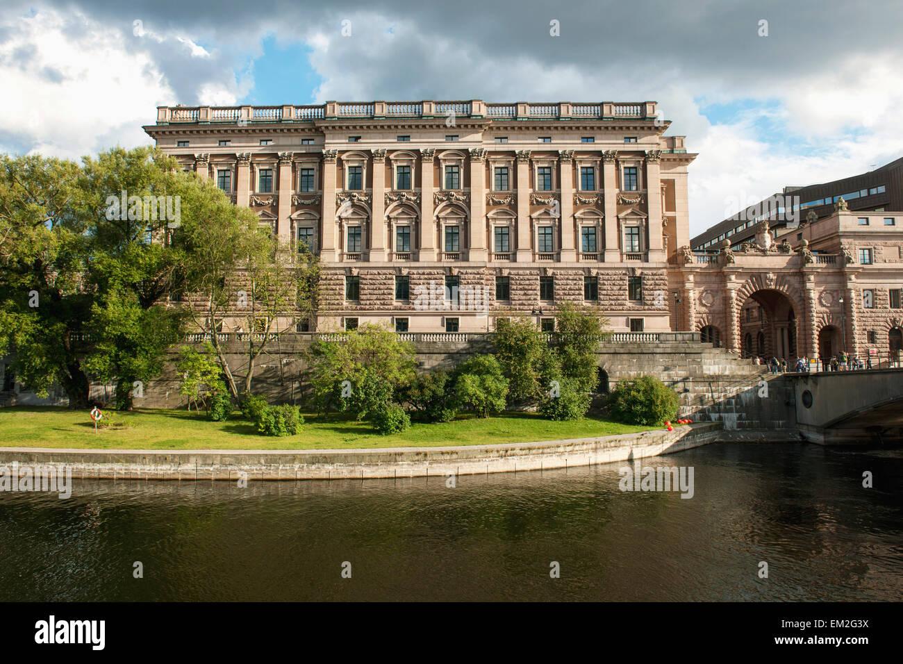 Casa svedese di nobiltà; Stoccolma Svezia Immagini Stock