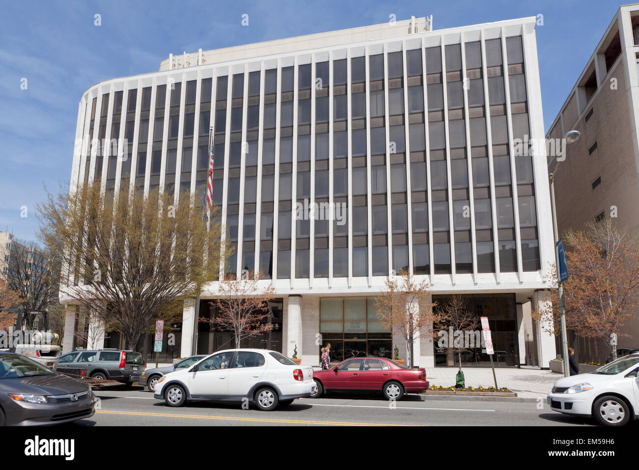 La Air Line Pilots Association, internazionale (ALPA) headquarters building - Washington DC, Stati Uniti d'America Immagini Stock