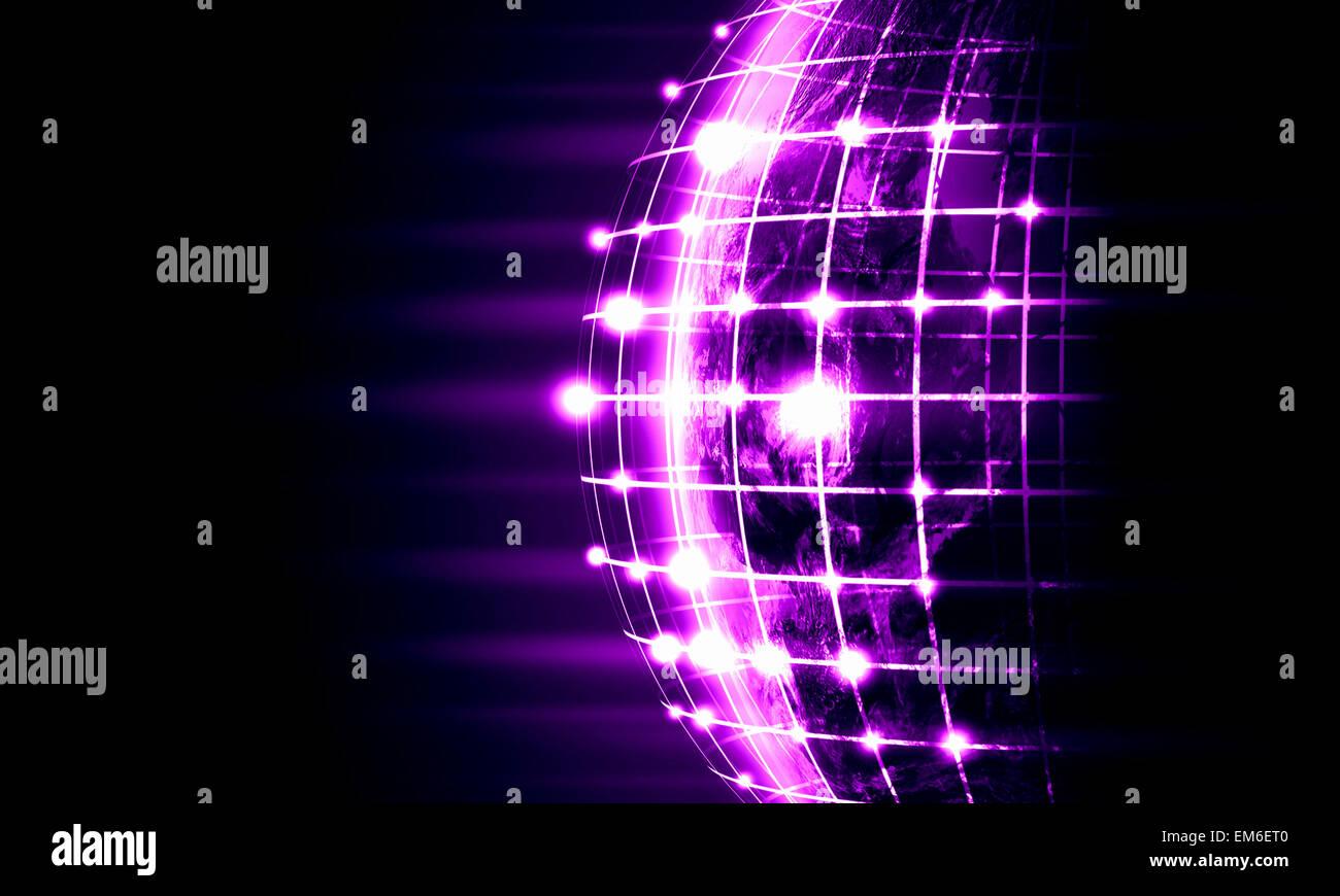Immagine del globo Immagini Stock