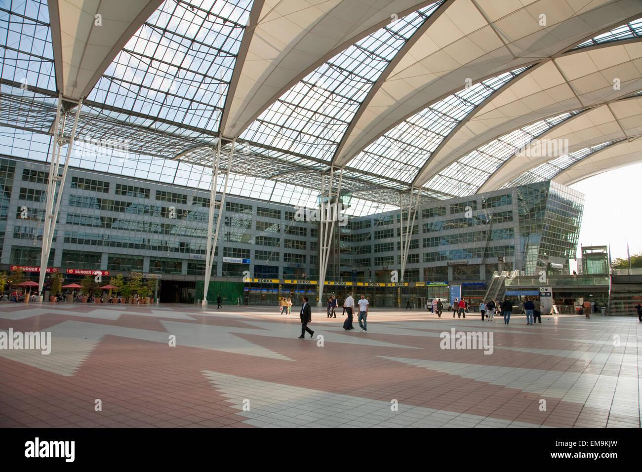 Il terminal dell aeroporto internazionale di monaco di baviera