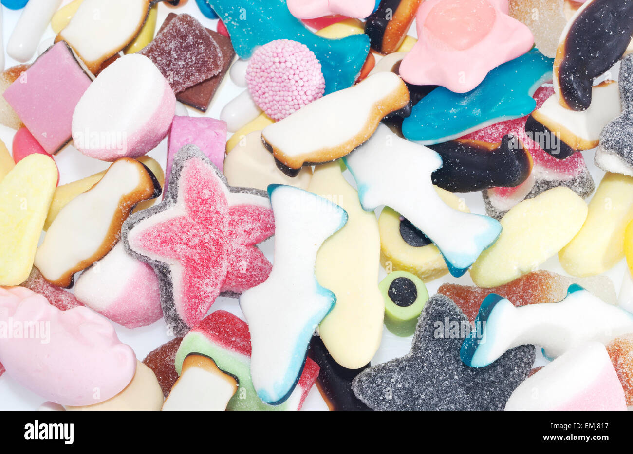 Caramelle di gelatina Foto Stock