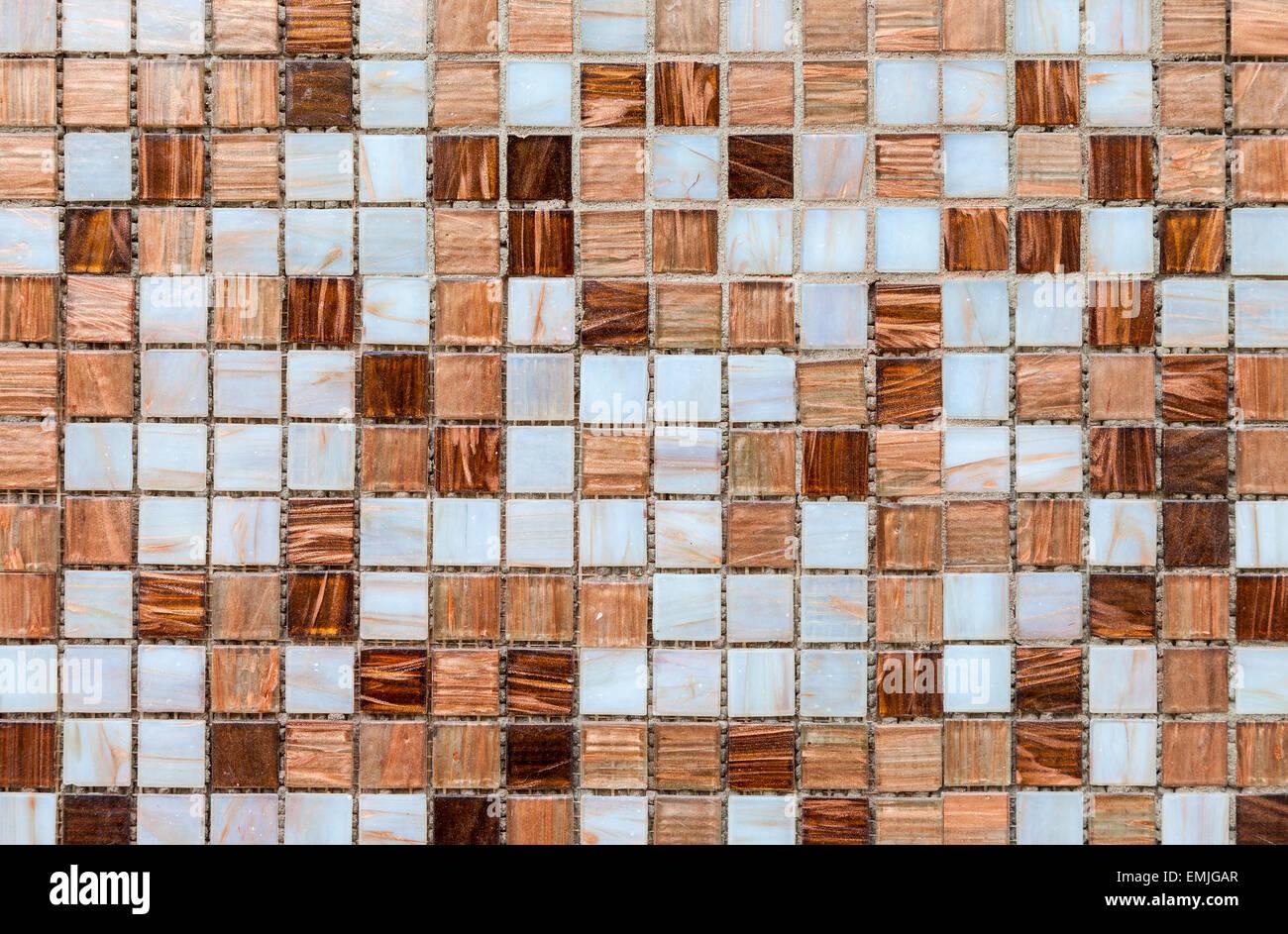Vetro ceramica colorate piastrelle a mosaico pattern di