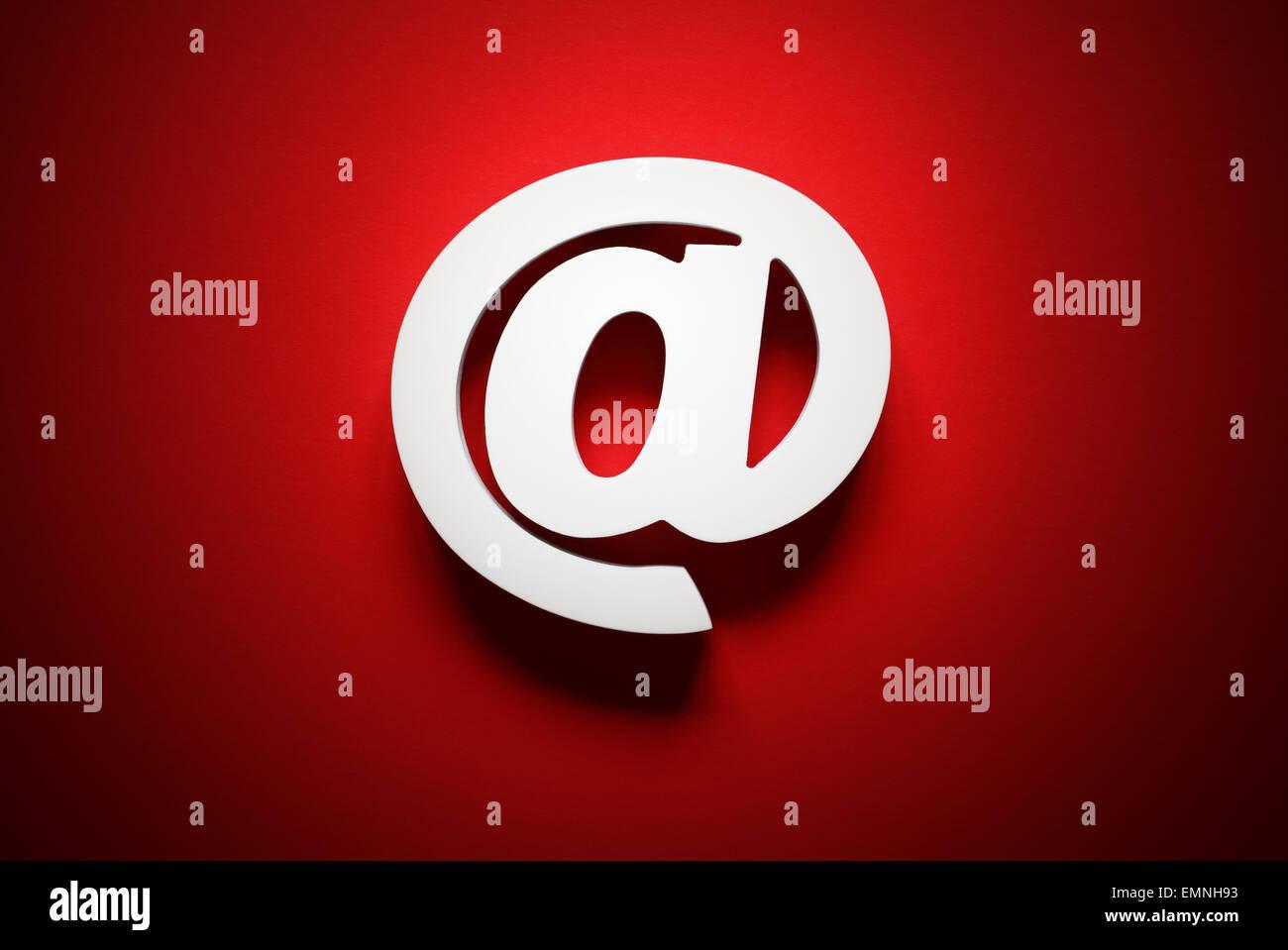 Simbolo del email Immagini Stock