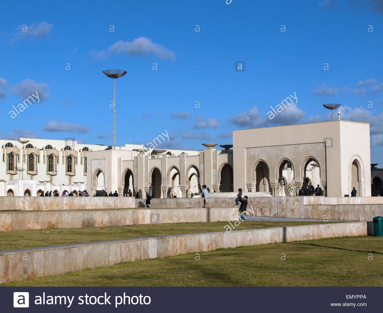 La biblioteca di Casablanca, Marocco Immagini Stock
