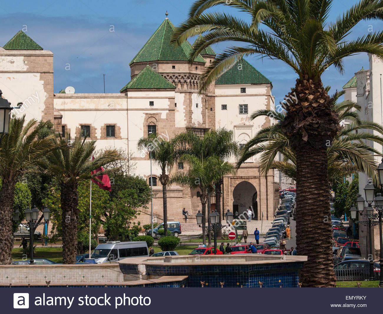 Il Royal Palace, Casablanca, Marocco Immagini Stock