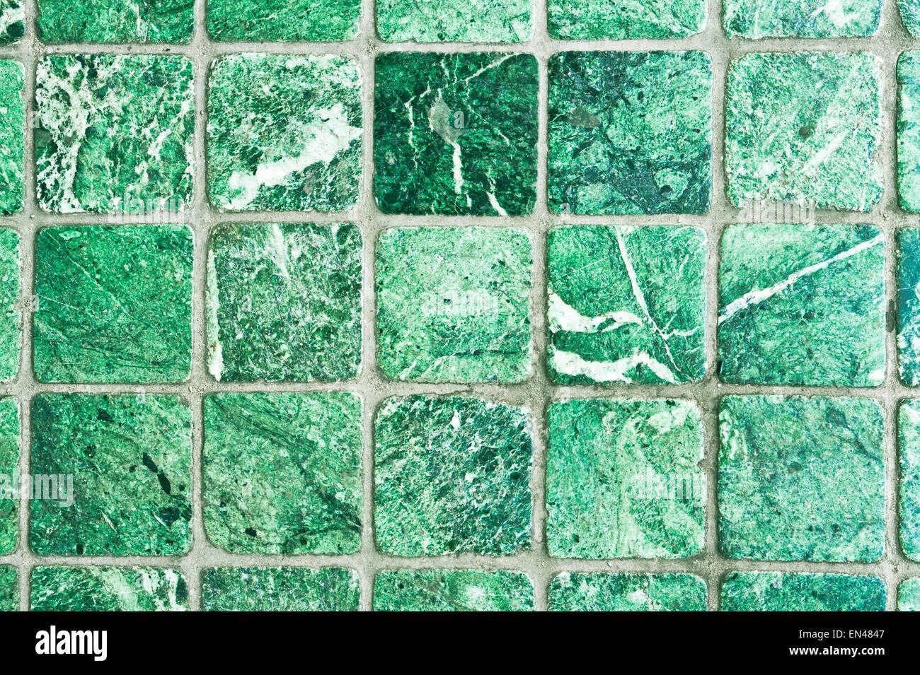 Piastrelle verdi