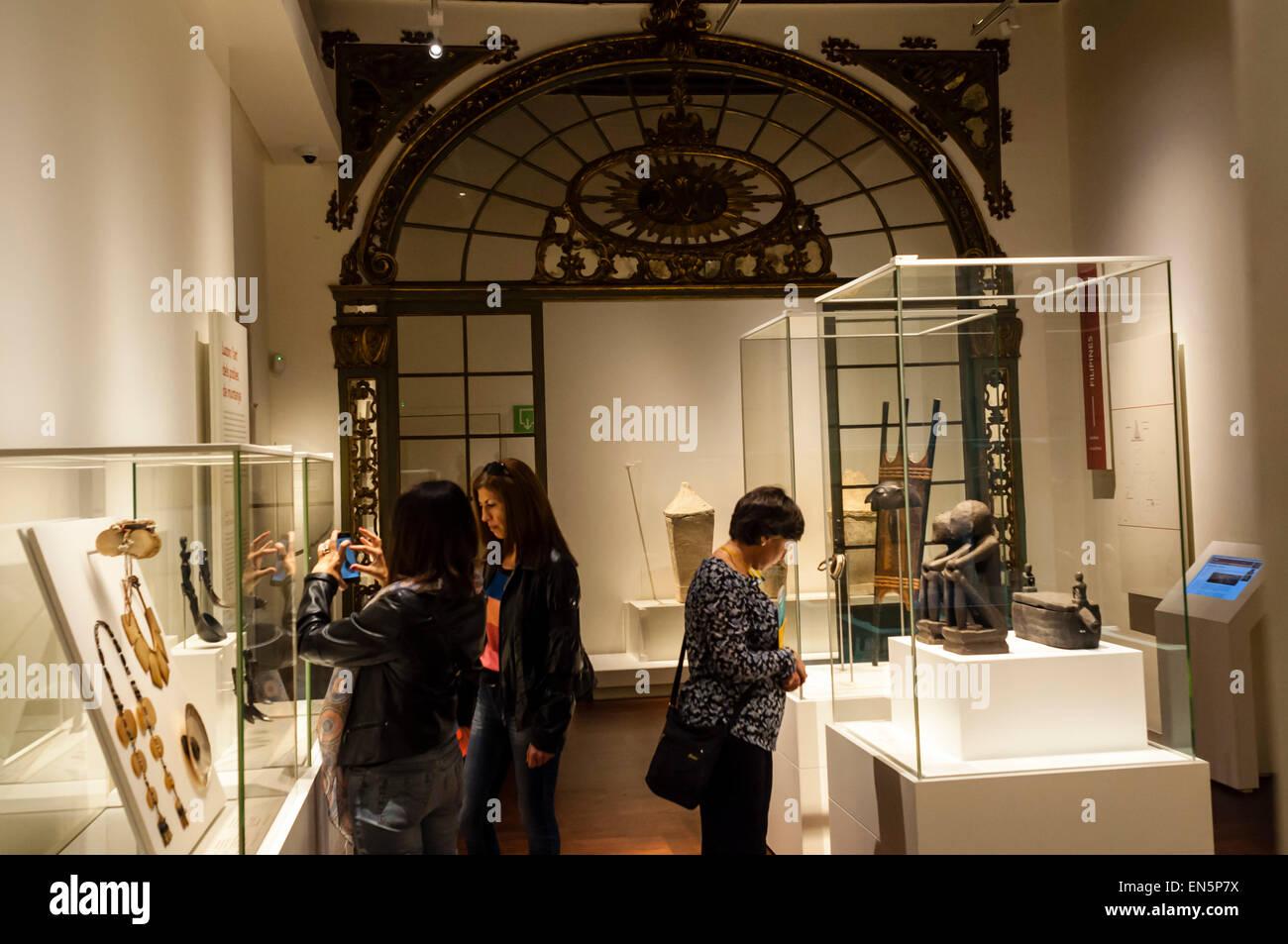 Il Museu de culture del món, Barcellona, Catalunya Immagini Stock