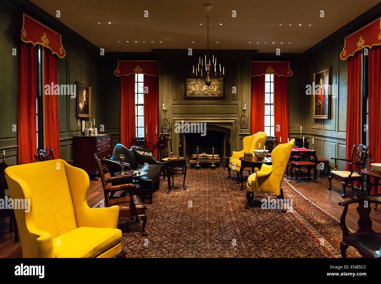 Winterthur museo di arti decorative e giardini, Wilmington, Delaware, STATI UNITI D'AMERICA Immagini Stock