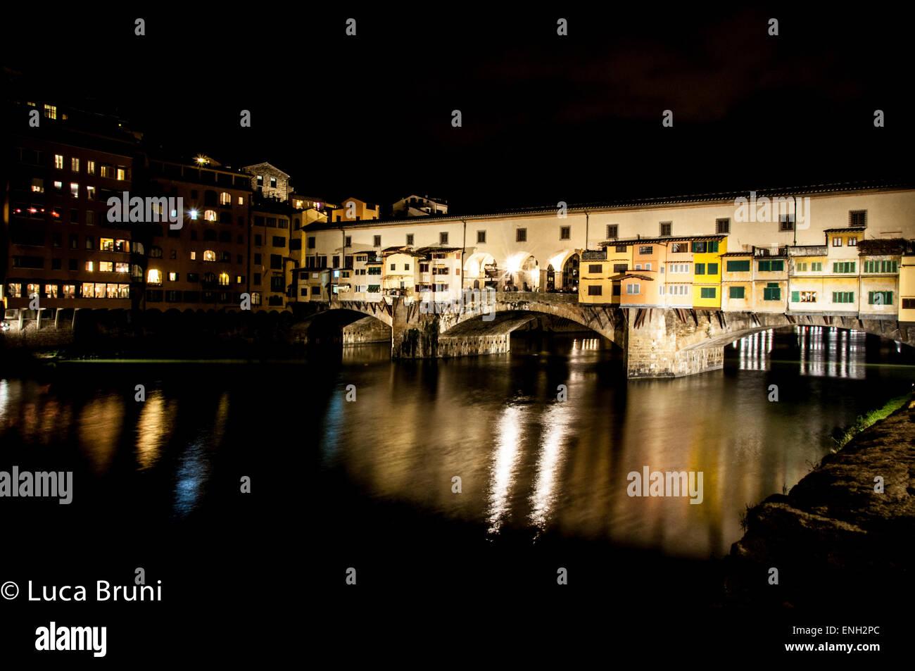 Week-end a Firenze Immagini Stock