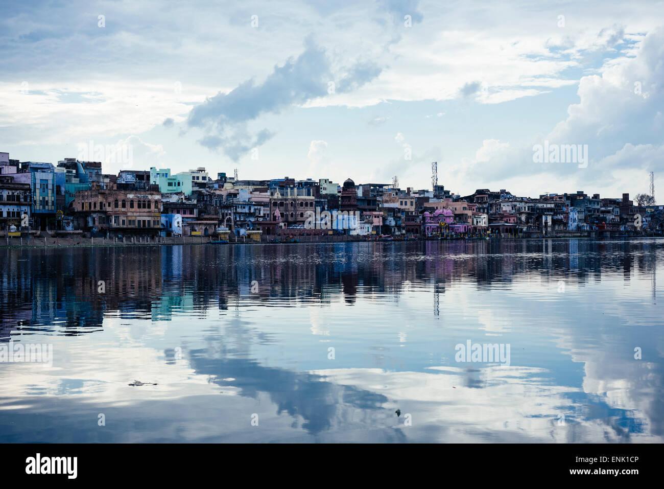Mathura, Uttar Pradesh, India, Asia Immagini Stock