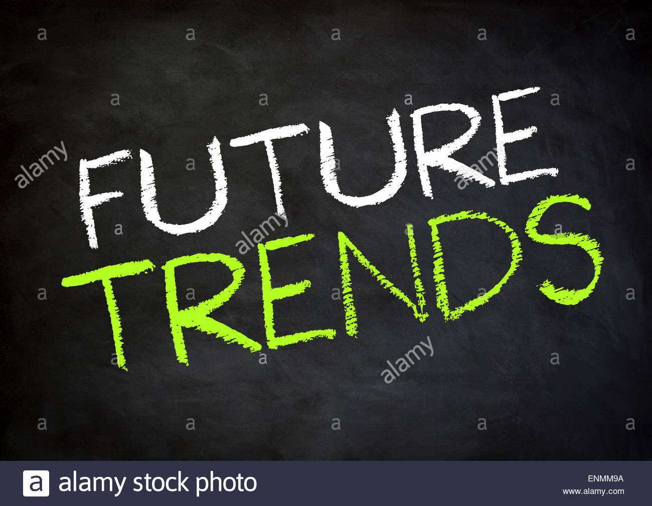 Tendenze future Immagini Stock