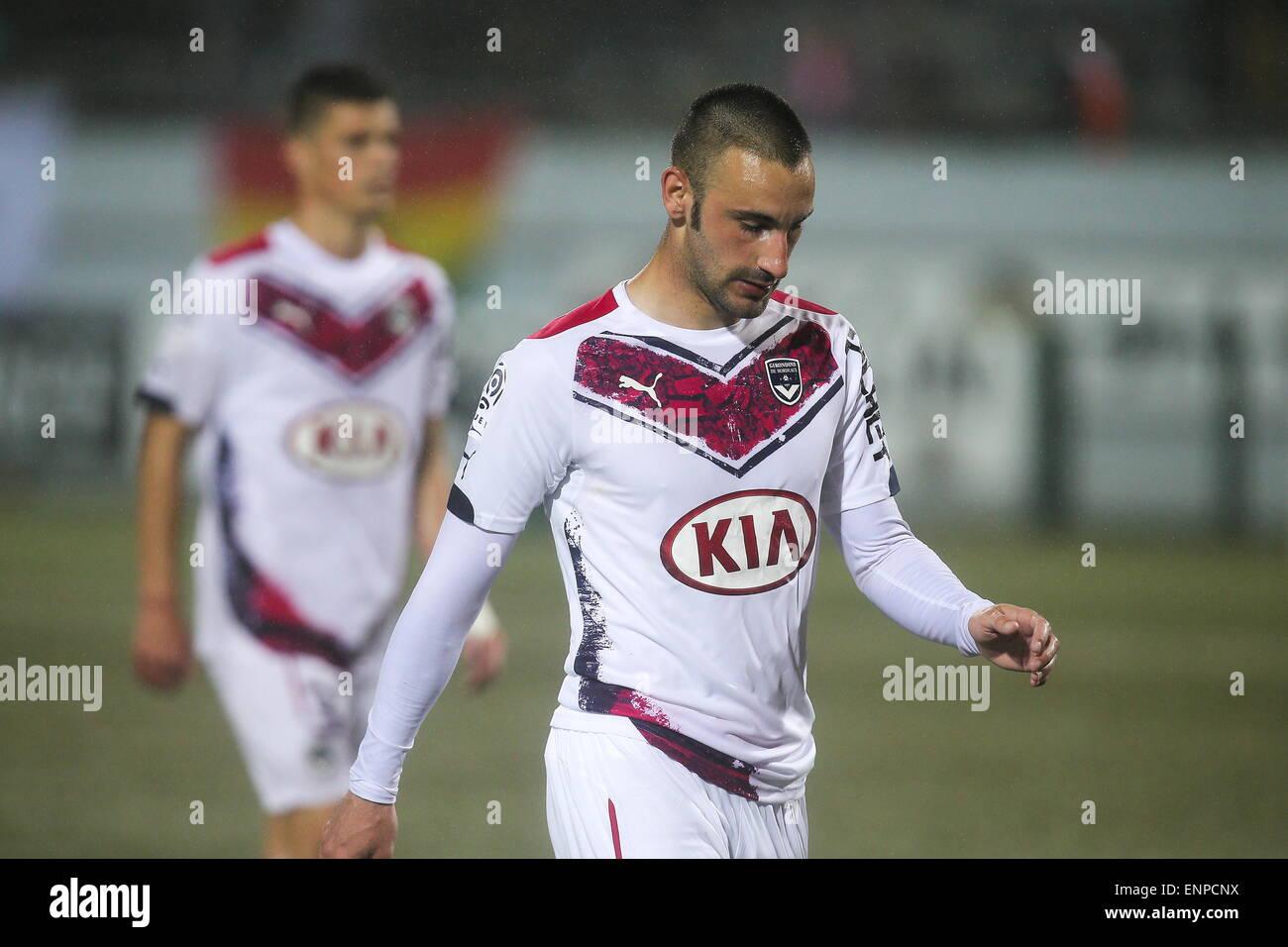 Diego contento - 02.05.2015 - Lorient/Bordeaux - 35eme journee de Ligue 1 .Photo : Vincent Michel/Icona Sport Immagini Stock