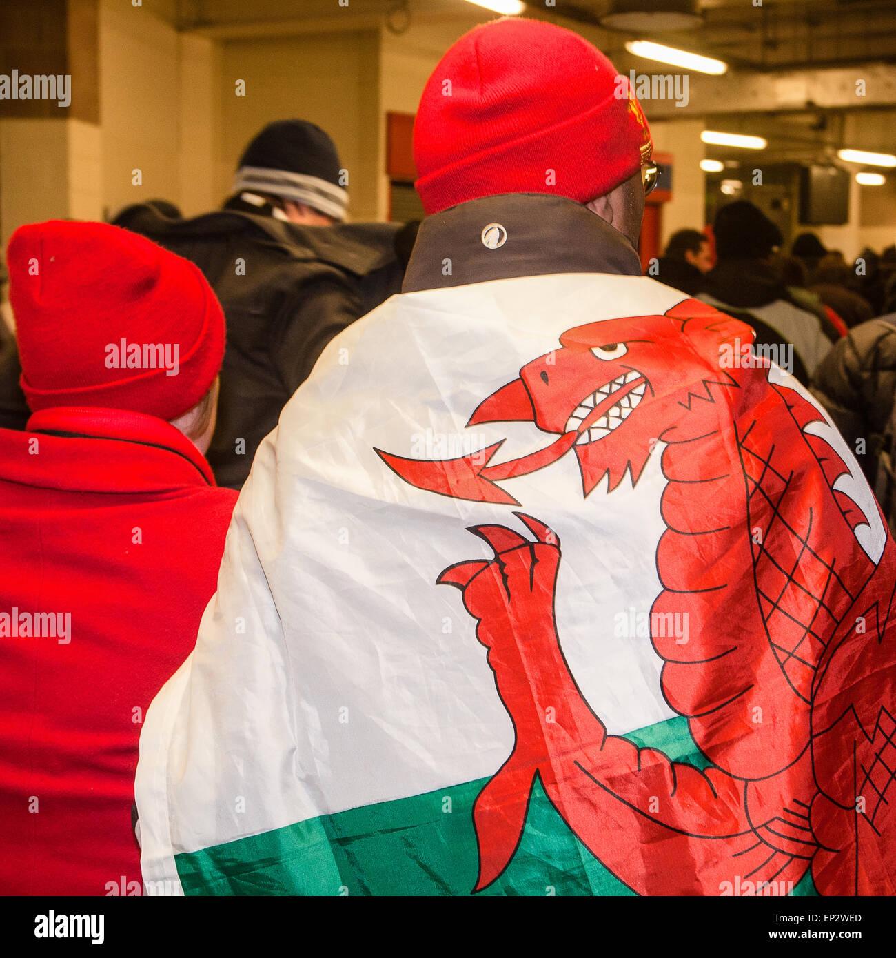 Numero sei Galles sei nazioni 2019 Rugby Felpa con cappuccio da uomo