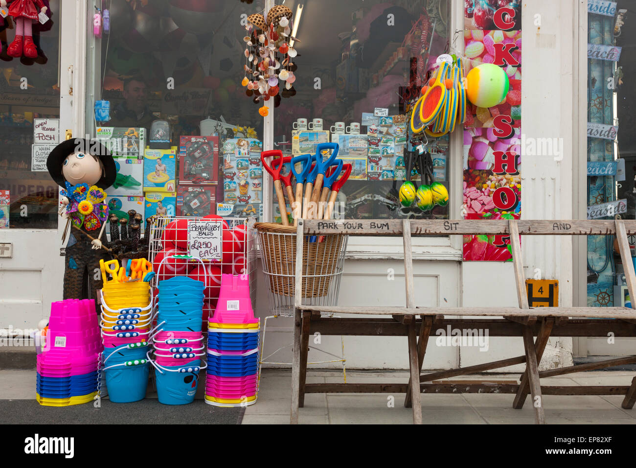 Mare shop in Margate, Kent, Inghilterra Foto Stock