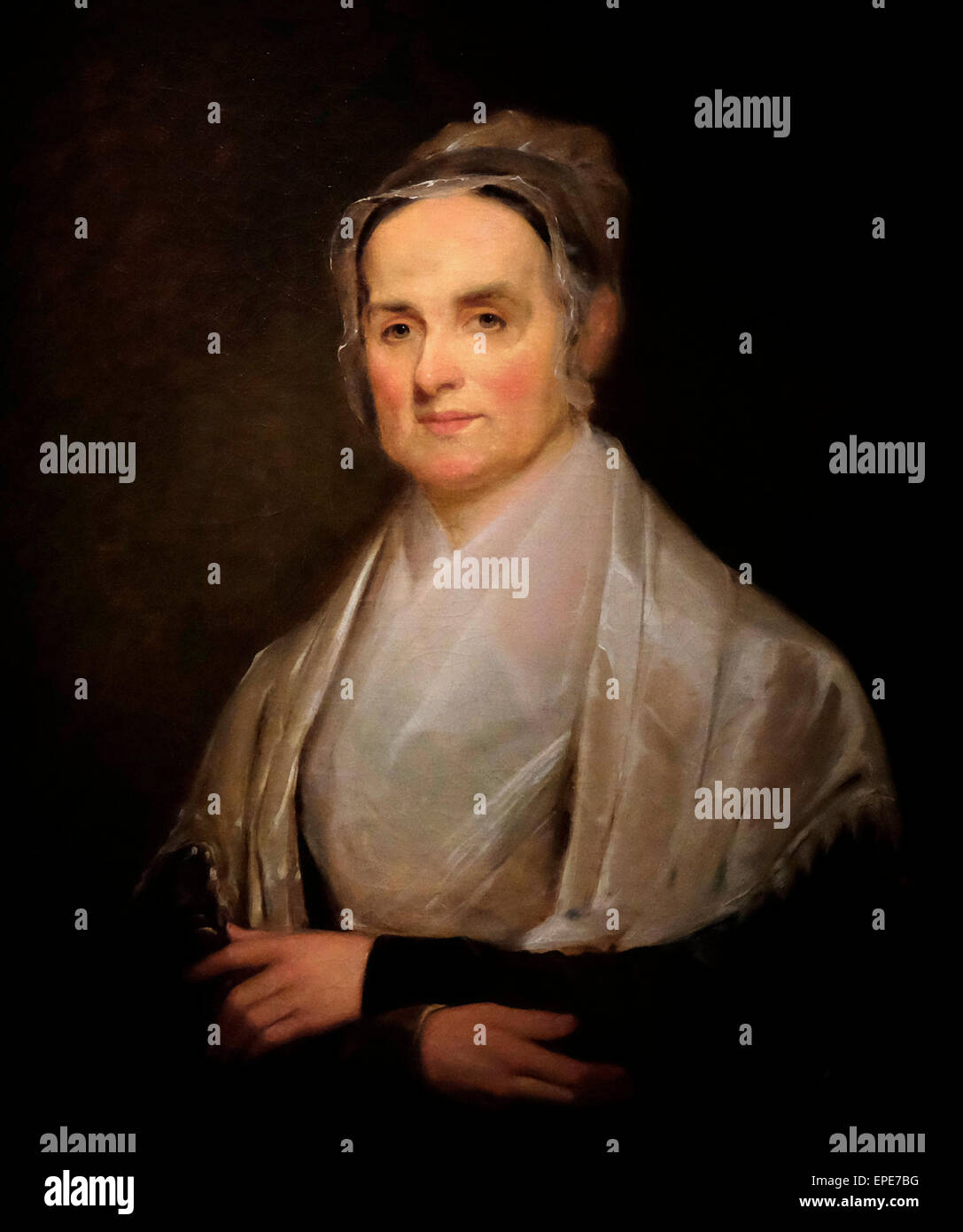 Lucretia Mott, Quaker 1842 Joseph Kyle Immagini Stock