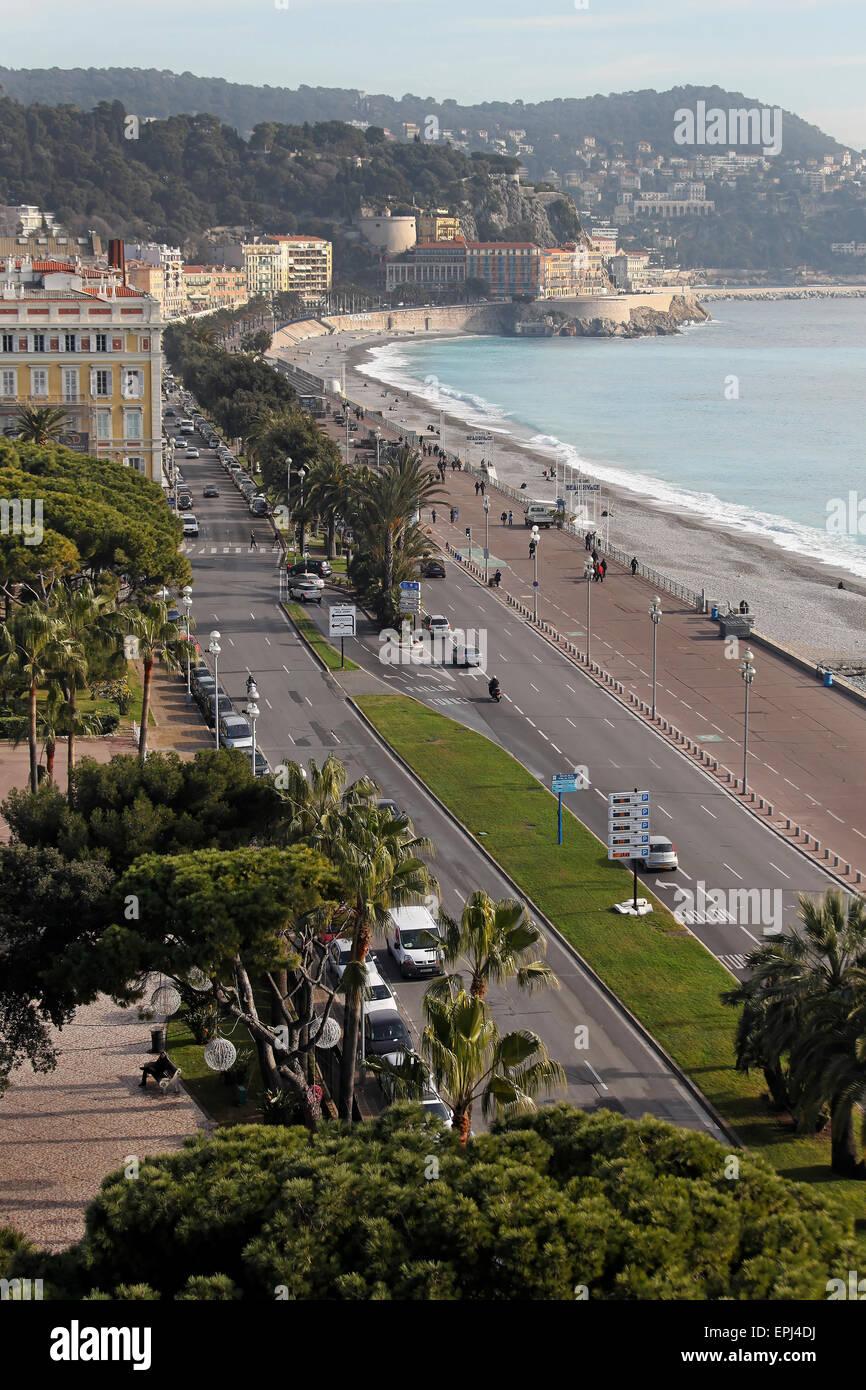 Nice Promenade Immagini Stock