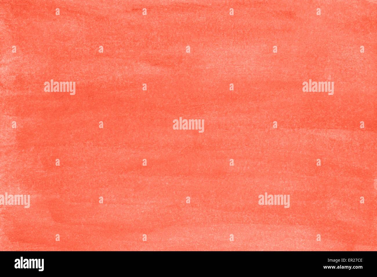 Rosso sfondo ad acquerello Immagini Stock