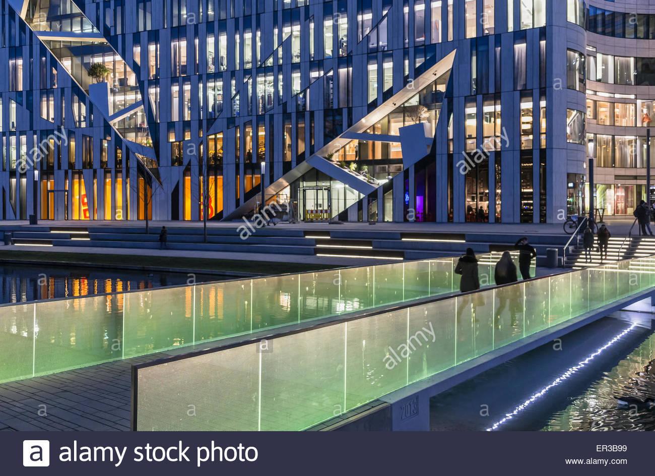 Ufficio K : Dusseldorf germania ufficio kö bogen complesso per lo shopping di