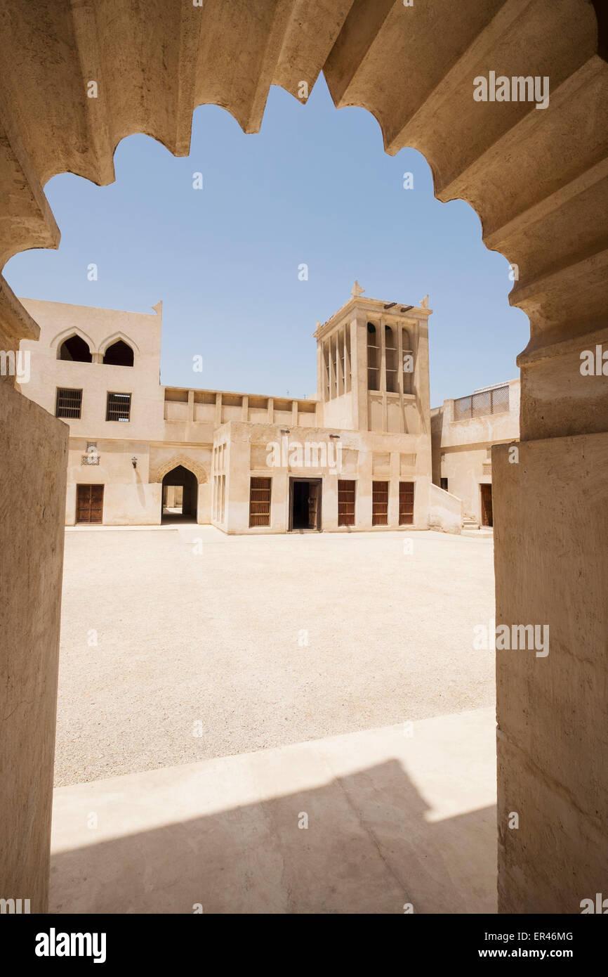 Shaikh Isa bin Ali casa in Manama Bahrain Immagini Stock