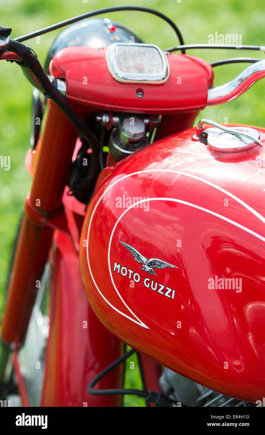 Anni Cinquanta Moto Guzzi Lodola Gran Turismo motocicletta Immagini Stock