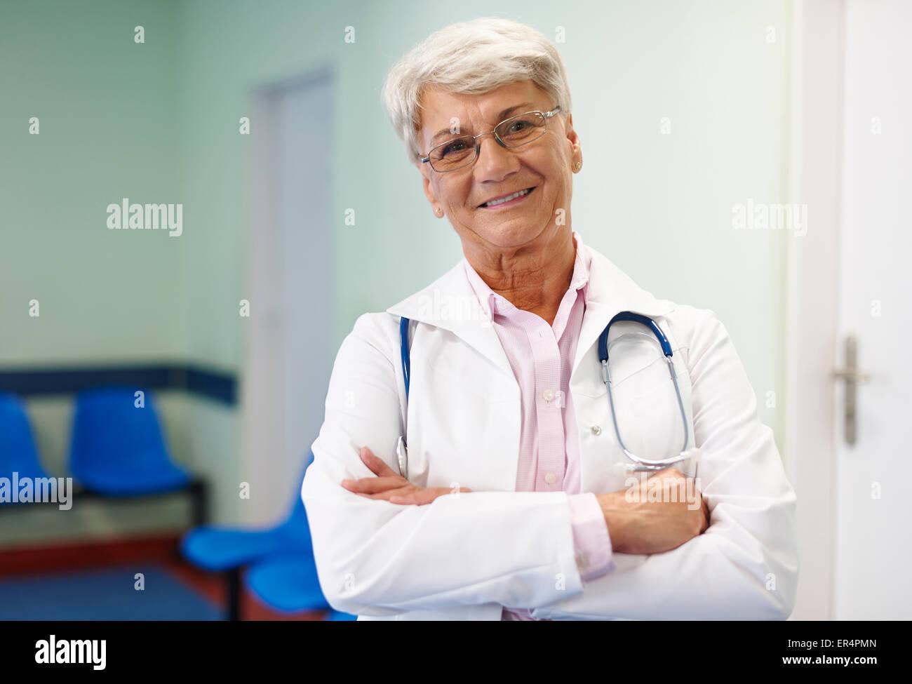 Ho provato tutti i giorni di essere un migliore medico. Debica, Polonia Immagini Stock