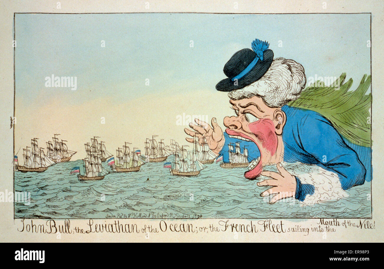 John bull il leviathan dell oceano o la flotta francese vela